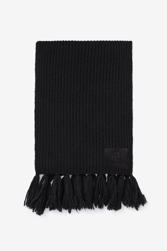 [anine bing]ALYSSA SCARF IN BLACK