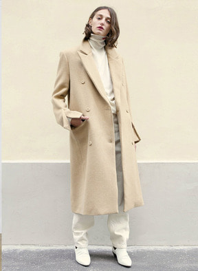 [KOR] Double Button Up Wool Coat
