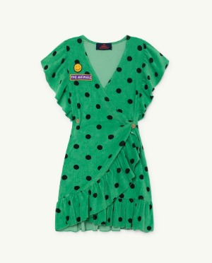 [TAO] Green Whale Dress 바로배송