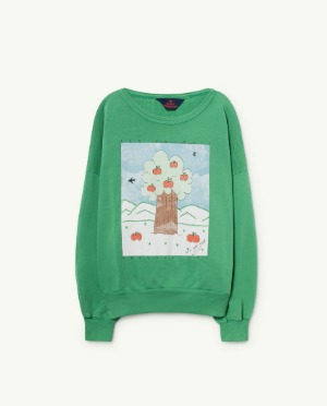 [TAO] Green Big Bear Sweatshirt 바로배송