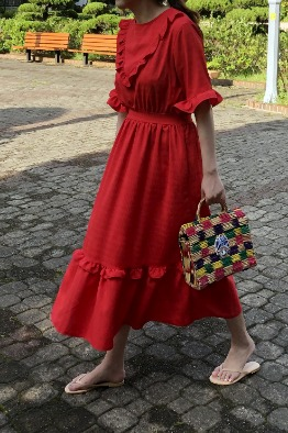 [Sister Jane]  Rose Garden Midi Dress-바로배송