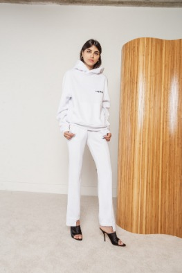 [RAGDOLL]19 FW TRACK PANT Optic White