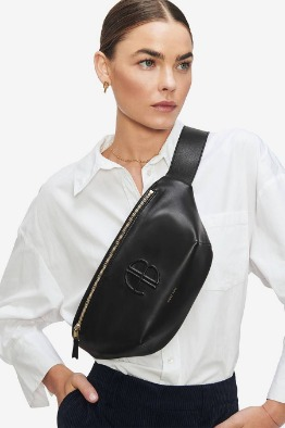 [aninebing]19 FW FANNY BAG IN BLACK