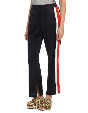 [GANNI] BLACK TRACK PANTS