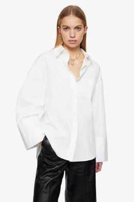 [ANINE BIN] ALLIE SHIRT IN WHITE