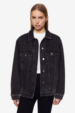 [ANINE BIN]RORY JACKET IN VINTAGE BLACK
